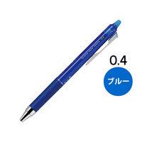 フリクションポイントノック 0.4mm ブルー 青 ゲルインクボールペン LFPK‐25S4‐L パイロット