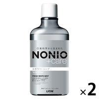 ノニオ+Wフレッシュホワイトミント2本