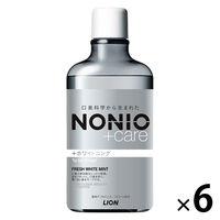 ノニオ+Wフレッシュホワイトミント6本