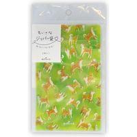 日本ホールマーク ミニジッパーバッグ柴犬 782283 6枚(直送品)