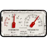 インテック GRUS 日本製精密温湿度計 GRS104L 低湿度用 1個(直送品)