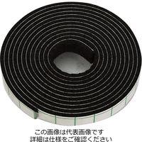 和気産業 フェルトテープ(ソフトタイプ) 濃茶 10×1800mm FU-363 1セット(4個)(直送品)