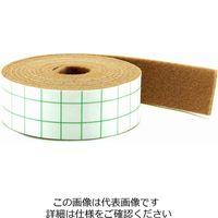 和気産業 フェルトテープ(ソフトタイプ) 茶 25×1800mm FU-372 1セット(2個)(直送品)
