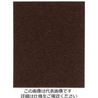 和気産業 フェルトシート(ハードタイプ) 濃茶 フリーサイズ FU-615 1セット(4個)(直送品)