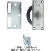 和気産業 内締錠 シルバー VA-177 1個(直送品)