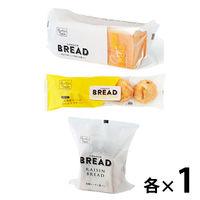 LOHACO BREAD 3種おためし福袋(耳までおいしいやわらか食パン豆乳、国産小麦 北海道コーンのふんわりプチパン、石窯レーズン食パン)ロハコブレッド