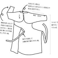 高性能フィルムメーカーが考えた いのちを守る 使い捨てエプロン型防護服 サンプラガウン サンプラスチック 1箱(10枚入)(直送品)