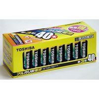 東芝 アルカリ電池 単3形 40本