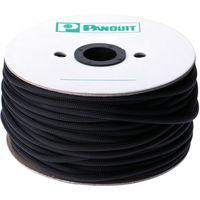 パンドウイット スーパーネットチューブ(ほつれ防止タイプ) 黒 外径6.4mm 60.96m SE25PSC-TR0 497-4018(直送品)