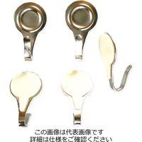 和気産業 丸型 粘着フック シルバー 5個 KYH303 1セット(15個:5個×3セット)(直送品)