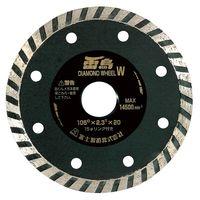 富士製砥 ダイヤモンドカッター 雷鳥ダイヤ ライチヨウダイヤ 105W 1セット(5枚)(直送品)