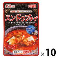 ホテイフーズ スンドゥブチゲ 濃縮タイプ 10袋 スープの素