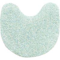 センコー SDSドゥースメランジェ トイレ3点セット(マット・洗浄ふたカバー・スリッパ) ブルー SDS160925 1セット(直送品)