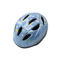 サギサカ 自転車 ジュニアヘルメット 児童用 54-58cm 水色(スター柄) 46837 1個(直送品)の画像