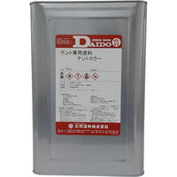 大同塗料 テント・シート用塗料 テントカラー ローズ 16L 420034 1缶(直送品)