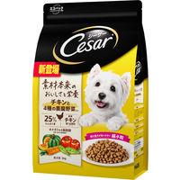シーザー ドライ成犬チキン4種野菜超小粒
