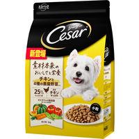 シーザードライ成犬チキン4種野菜小粒