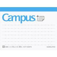 コクヨ キャンパス まとめがはかどるノートふせん メ-NT100BTB 1セット(10冊)(直送品)