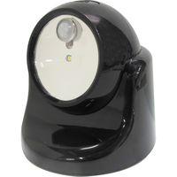 三共コーポレーション TRAD LEDセンサーライトTSL-1B ブラック #329108 1個(直送品)