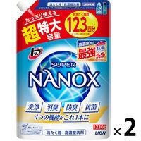 トップ スーパーナノックス詰替大×2