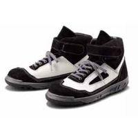 青木安全靴製造 スニーカー(ハイカット) ZR21BW 26.5CM ZR21BW-265 1足(直送品)