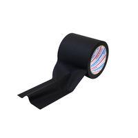 【養生テープ】パイオラン仮設コード固定用テープ 黒 幅100mm×長さ20m パイオランクロス粘着テープ 1セット(18巻:1巻×18)