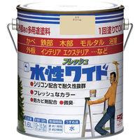 ニッペホームプロダクツ ニッぺ 水性フレッシュワイド 1.6L クリーム HTA102-1.6 1缶(1600mL) 827-9410(直送品)