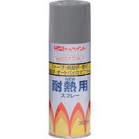 ニッペホームプロダクツ ニッぺ 耐熱用スプレー 300ml グレー HWP004 1本(300mL) 818-0136(直送品)