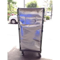 ウツヰ(UTSUI) カゴ車用保冷カバー KT-2 1枚(直送品)