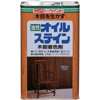 ニッペホームプロダクツ ニッぺ 油性オイルステイン 4L チーク HPB0Q-4 1缶(4000mL) 859-8562(直送品)