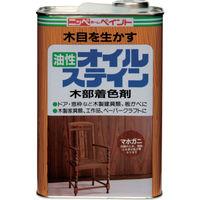 ニッペホームプロダクツ ニッぺ 油性オイルステイン 1L けやき HPB0R0-1 1缶(1000mL) 859-8569(直送品)