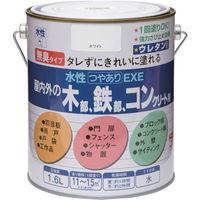 ニッペホームプロダクツ ニッぺ 水性つやありEXE 1.6L ライトグリーン HSU114-1.6 1缶(1600mL) 859-8838(直送品)