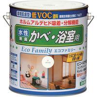 ニッペホームプロダクツ ニッぺ 水性エコファミリー 3.2L 抹茶 HUM116-3.2 1缶(3200mL) 859-9041(直送品)