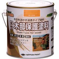 ニッペホームプロダクツ ニッぺ 水性木部保護塗料 0.7L けやき HXY003-0.7 1缶(700mL) 859-9313(直送品)