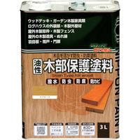 ニッペホームプロダクツ ニッぺ 油性木部保護塗料 3L スプルース HYM001-3 1缶(3000mL) 859-9433(直送品)