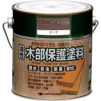 ニッペホームプロダクツ ニッぺ 油性木部保護塗料 0.7L オーク HYM003-0.7 1缶(700mL) 859-9436(直送品)