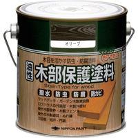 ニッペホームプロダクツ ニッぺ 油性木部保護塗料 0.7L オリーブ HYM004-0.7 1缶(700mL) 859-9440(直送品)