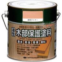 ニッペホームプロダクツ ニッぺ 油性木部保護塗料 0.7L 透明クリアー HYM010-0.7 1缶(700mL) 859-9454(直送品)