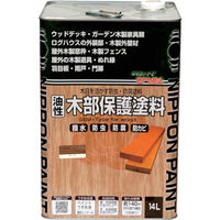 ニッペホームプロダクツ ニッぺ 油性木部保護塗料 14L 透明クリアー HYM010-14 1缶(14000mL) 859-9456(直送品)