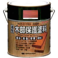 ニッペホームプロダクツ ニッぺ 油性木部保護塗料 1.6L マホガニ HYM005- 1.6 1缶(1600mL) 815-9325(直送品)