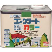 ニッペホームプロダクツ ニッぺ 水性コンクリートカラー 7L ペールグリーン HPT203-7 1缶(7000mL) 859-8592(直送品)