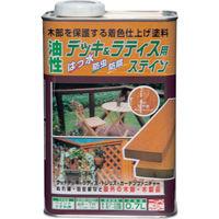 ニッペホームプロダクツ ニッぺ 油性デッキ&ラティス 0.7L シャドウグレー HUH008-0.7 1缶(700mL) 859-8994(直送品)