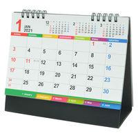 【セール】2021年 卓上カレンダー カラーインデックス B6 新日本カレンダー