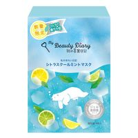 【アウトレット】我的美麗日記 シトラスクールミントマスク 4713575126162 1箱(4枚入) 統一超商東京マーケティング