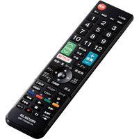 かんたんテレビリモコン パナソニック・ビエラ用 ブラック ERC-TV02BK-PA エレコム 1個(直送品)