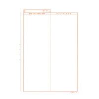 A4医科診療録 2号紙 社保用 CCF002 1冊(100枚入) イムラ封筒