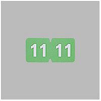 リヒトラブ カラーナンバーラベル ロールタイプ 「11」 HK781R-11 1ロール(300片入)