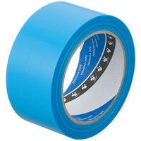 寺岡製作所 P-カットテープ 4140 強粘着 青 幅50mm×25m巻 1セット(5巻:1巻×5)