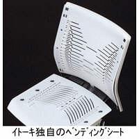 イトーキ コペル オフィスチェア 肘無し ミントブルー YCS-MB 1脚 (直送品)