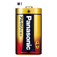 パナソニック アルカリ乾電池 単1形 1箱(100本入)